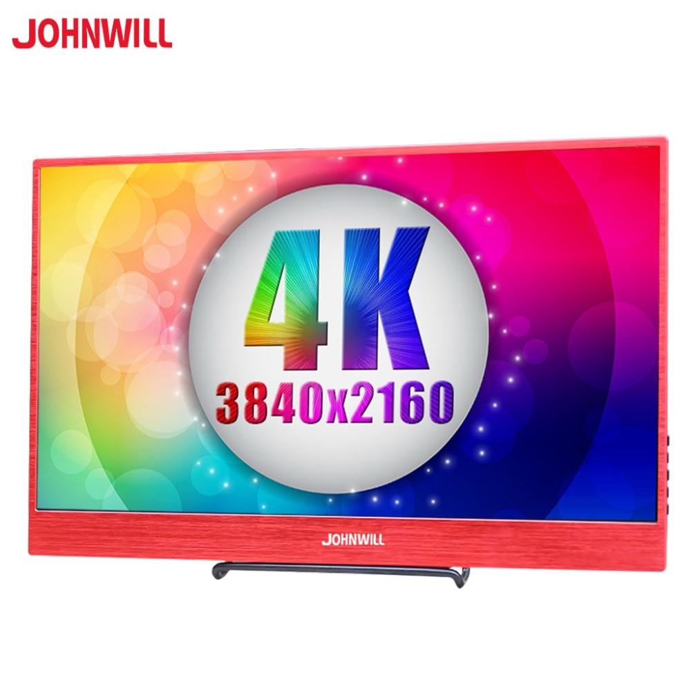 15.6 pouces HD IPS LED LCD Portable 4 K moniteur 3840x2160 type-c avec DP HDMI USB-C pour PC ordinateur Macbook HUAWEI TNT Samsung