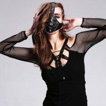 New Punk Cool Personality font b Mask b font Punk Rivets Anti Haze Air Cycling Gear