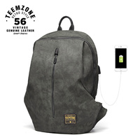 2018 Men Backpack Canvas Waterproof Casual Back Pack USB School Bags For Teenagers Large Capacity Male Bagpack Travel Bag j50