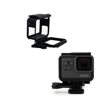 Hoge Kwaliteit Action Camera Accessoires Zwart Vaste Frame Side Grens Standaard Beschermende Frame Voor Gopro Hero 5