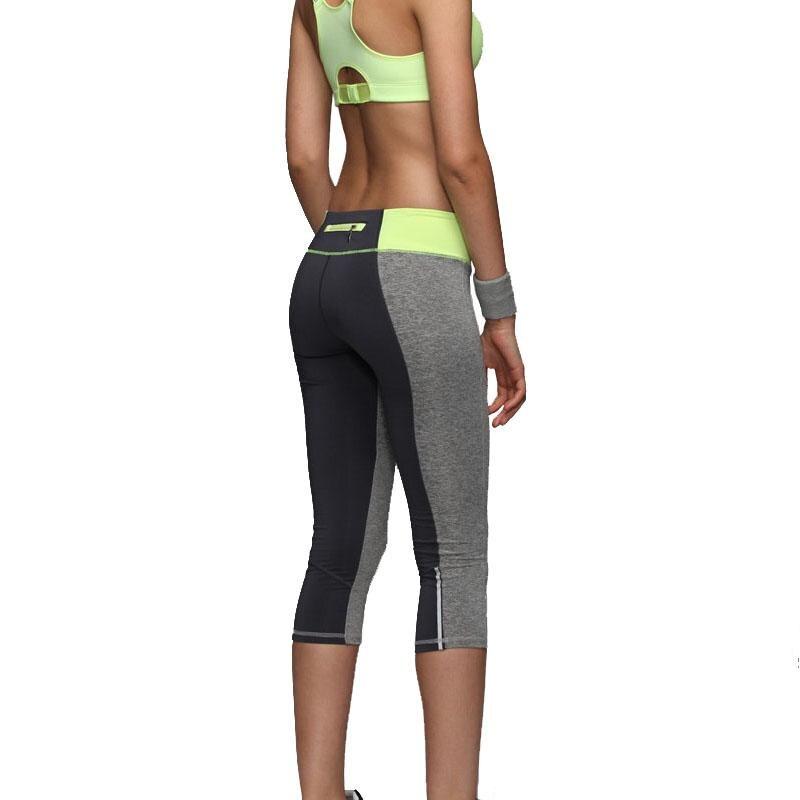 Women Sexy Zipper Pocket Leggings Fitness <font><b>Capri</b></font> <font><b>Pants</b></font> Reflective Leggins Slim Women's <font><b>Workout</b></font> Trousers Quick-dry Activewear 1025
