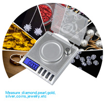 0.001g Precision Portable Electronic Jewelry Scales 50g/0.001 Diamond Gold Germ Medicinal Pocket Digital Scale Weighing Balance 0 001g precision portable electronic jewelry scales 50g 0 001 diamond gold germ medicinal pocket digital scale weighing balance