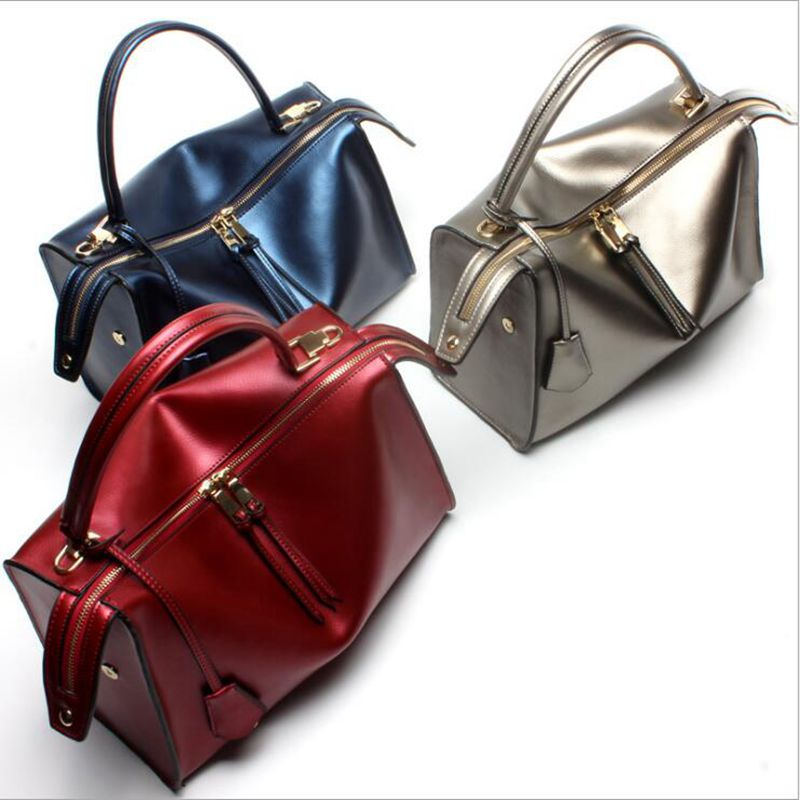 2017 NEW Luxury Genuine Leather Women Handbags Office Fashion Brand Design Real Leather Shoulder Bag Vintage HIgh Quality Bag beep2018 new high quality fashion luxury brand leather handbags fashion shoulder bag women s well known brand