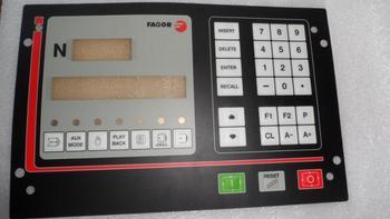 1 pieza nuevo teclado de membrana CNC101