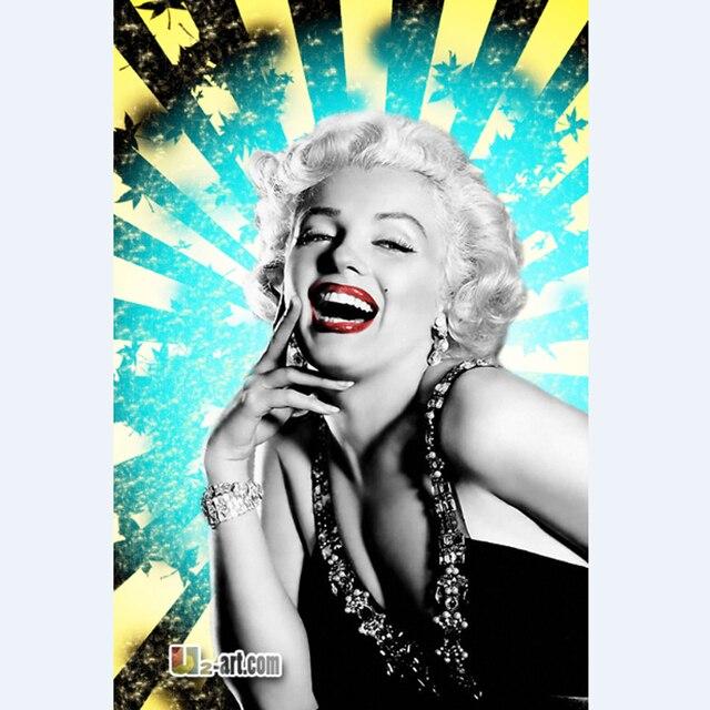 Poster e stampe Marilyn Monroe pittura camera da letto decorazione ...