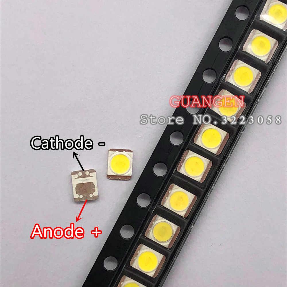 500 Buah Asli untuk LG Innotek LED Lampu Latar LCD TV Aplikasi Lampu Latar LED 1W 3V 1210 2835 Keren putih LED TV LCD Lampu Latar