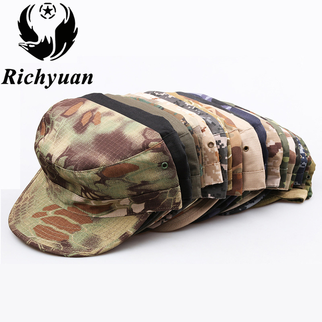 40268654ac5 Military Cap Hat Female Winter Hats For Women Men Ladies Army Militar Hat  Pu Leather Visor Black Cap Sailor Hat Bone Male-in Military Hats from Men's  ...