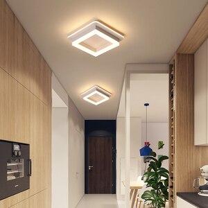 Image 3 - سقف ليد حديث أضواء ل المدخل شرفة شرفة غرفة نوم غرفة المعيشة سطح شنت مربع/مصابيح Led مستديرة مصباح السقف