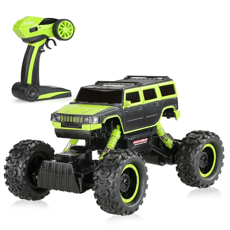 rc car 2.4G 2CH 1:14 Scale 4WD with LED Light Electric RTR Rock Crawler Off-road RC Car remote control vehicle rock crawler toy kulak 4x4 1 18th rtr electric powered off road crawler 94680