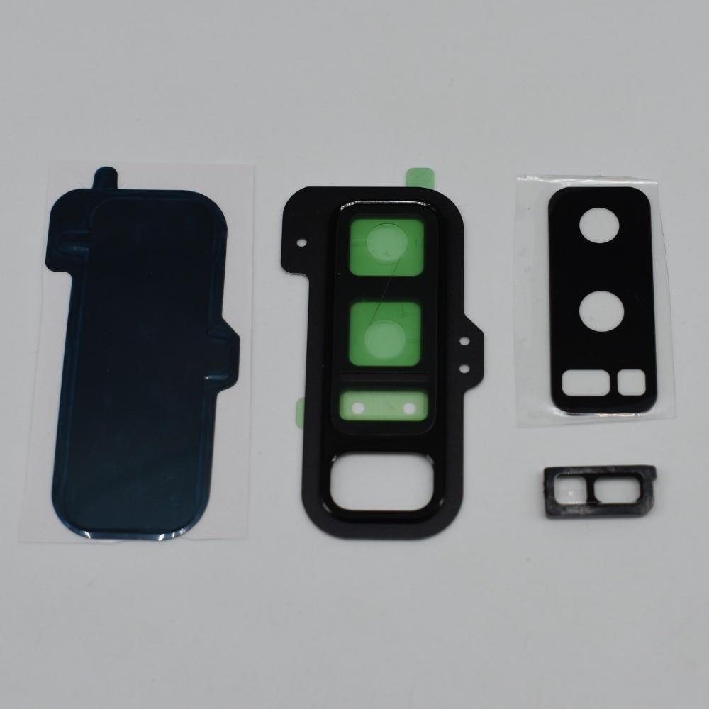 OEM для Samsung Galaxy Note 8 N950 сзади Камера Стекло крышка объектива с Корпус Рамки держатель + Рассеиватели для вспышки + натуральная стекло