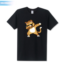 Funny Dogs&Cat Dabbing Dab Pose Animal Cartoon 3D Printed T Shirts Cotton Men Clothes 2019 Summer Fashions Hip Hop Tee Shirt Top цена