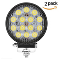2PCS 42W LED Work Light for Indicators Motorcycle Driving Offroad Boat Car Tractor Truck 4x4 SUV ATV Flood 12V 24V