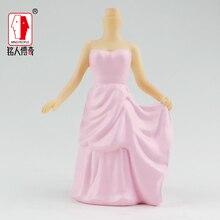 Birthday cake topper Creative gift real doll custom clay dolls fixed resin body