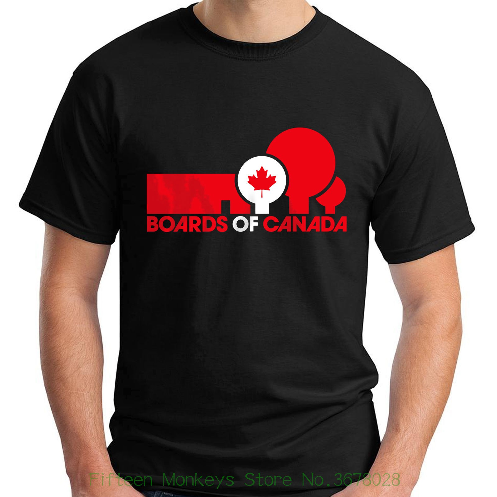 Unisex More Size And Colors Boards Of Canada Boc Electronic Hip Hop Short Sleeve Black Mens T-shirt S - 5xl