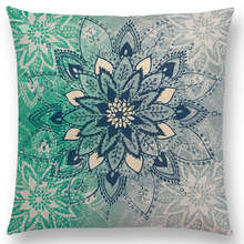 Dreamy Rainbow Boho Desert Flower Gorgeous  Mandalas Starlight Fantasy Sky Prints Cushion Home Decor Sofa Throw Pillow