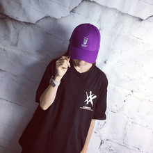 20e4630be9f Summer Brand New Cotton Mens Hat Youth Purple Coffee Cup Embroidery Unisex  Women Men Hats Baseball Cap Snapback Casual Caps