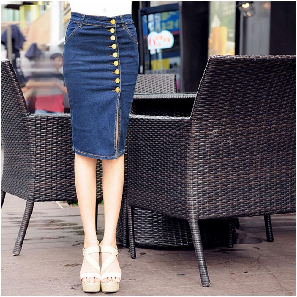 Popular Ladies Jean Skirt-Buy Cheap Ladies Jean Skirt lots from ...
