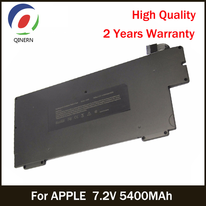 все цены на QINERN Laptop Battery For APPLE 7.2V 5400MAh Laptop Battery For MacBook Air 13