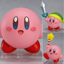 Land Kirby Nendoroid 544 game Anime Collectible Action Figure PVC toys for christmas gift with retail box free shipping(China)