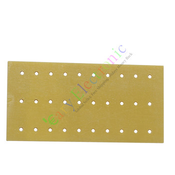 Wholesale and retail 50pc PCB Fiberglass Turret Terminal Strip 30pin Holes Tag Board audio amps DIY free shipping