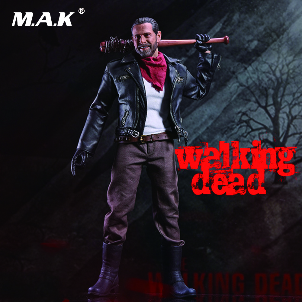 1/6 Scale The Walking Dead Negan Full Set Action Figures Body & Head & Accessories Toys Gifts Collections цены