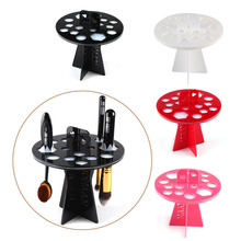 Makeup Brushes Holders Acrylic Dry Brushes Rack Convenient And Practical Hanging Brushes Drying Artifact