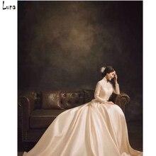 Ручной Старый мастер Старинные фотографии фоном Pro Окрашенные Муслин Моды Фоны для фотостудии Индивидуальные 3X6 м DM192