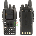 walkie talkie wouxun KG-UV9D two way radio portable wouxun kg uv9d dual brand dual display Multi-Band 136-174/400-500 Mhz RX