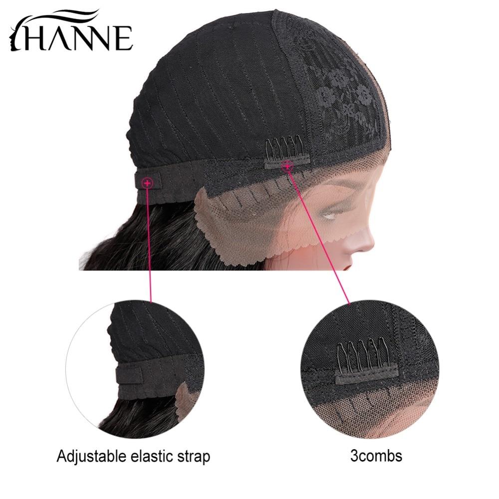 HANNE Rambut Brasil Menenun Alami Rambut Manusia Wig untuk Wanita - Pasokan kecantikan - Foto 2