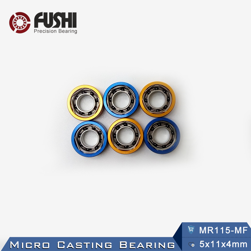 MR115 MF Micro Casting Bearing 5x11x4 mm 1PC Use For Spinning Reel Water Wheel Bearings MR115