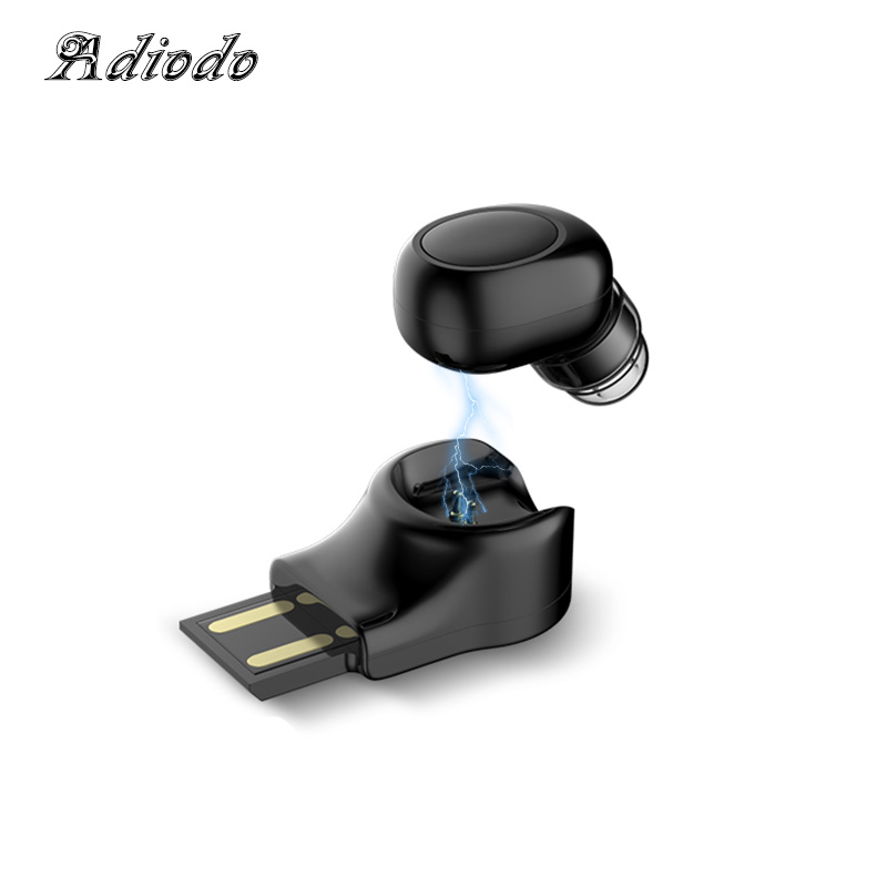 Wireless Headphones Bluetooth Earphone Cordless Headphone Mini Headset Small Stereo Earbuds Hidden Invisible Earphone For Phone