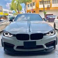 Для BMW M4 F80 2 3 4 серии F30 F31 F32 3GT F34 M2 белый и янтарный M4 знаковых Стиль светодио дный Angel eyes kit halo Кольцо указатель поворота
