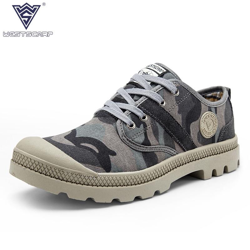 WEST SCARP Casual Men Shoes Man Flats Spring Autumn Breathable Fashion Classic Men Canvas Shoes Brand Zapatos Hombre Size 38-45