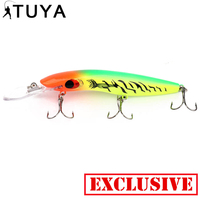 16cm 24 4g Big Plastic Ocean Boat Sea Fishing Isca Artificial Hard Lures Bait Pesca Hook