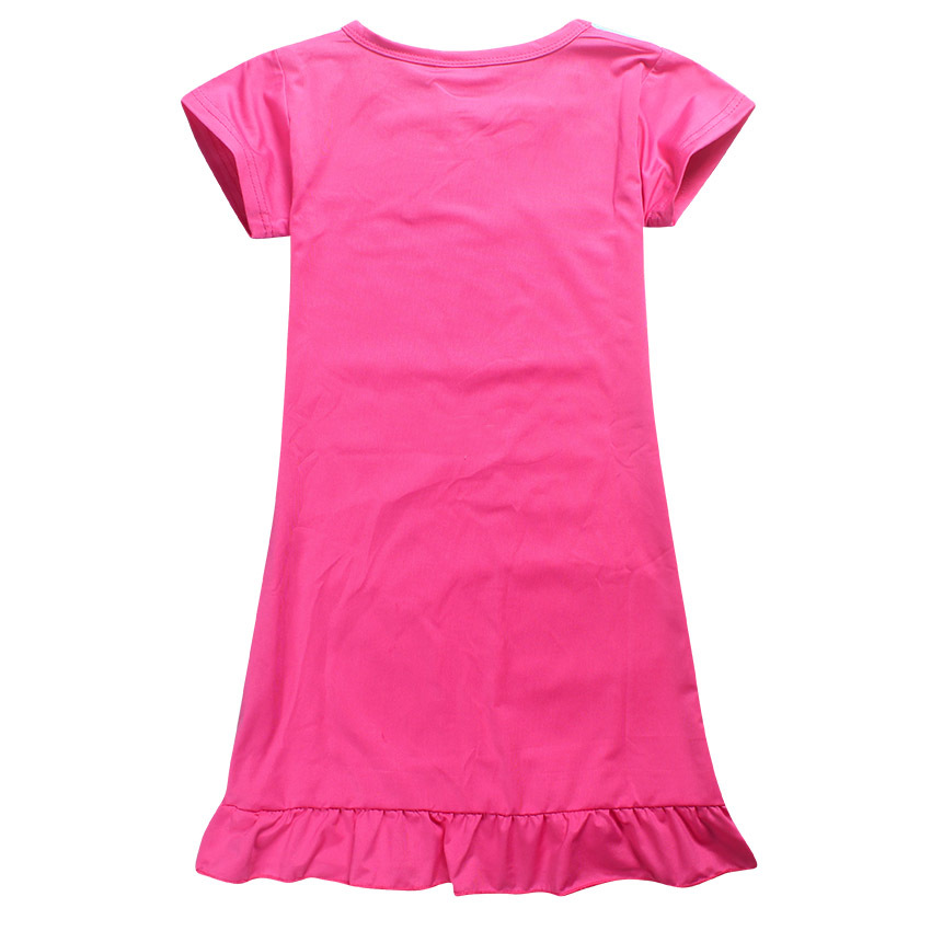 2018 New Summer Baby Girl Clothing Descendants 2 Dresses for Girls Princess Birthday Party Dress Teenage Pajamas Kids Clothes