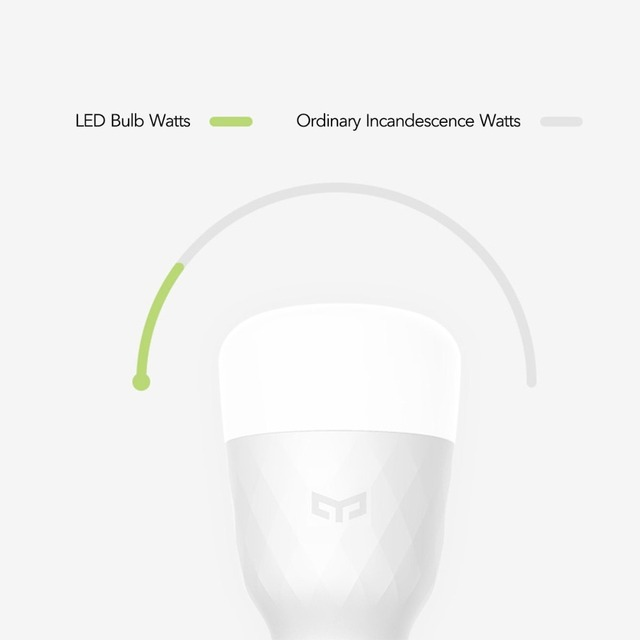 [ English Version ] Xiaomi Yeelight Smart LED Bulb Colorful 800 Lumens 10W E27 Lemon Smart Lamp For Mi Home App White/RGB Option 5