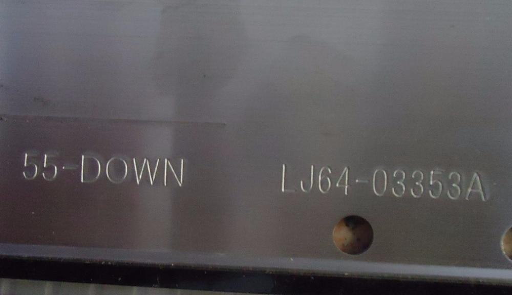 "led רצועת lj64 55"" 55-DOWN LJ64-03353A LED רצועת SLED 2011SGS55 5630 R L 86 H1 RVE1.0 עבור LTA55HQ16 86LED 603MM 2 חתיכות / הרבה (4)"