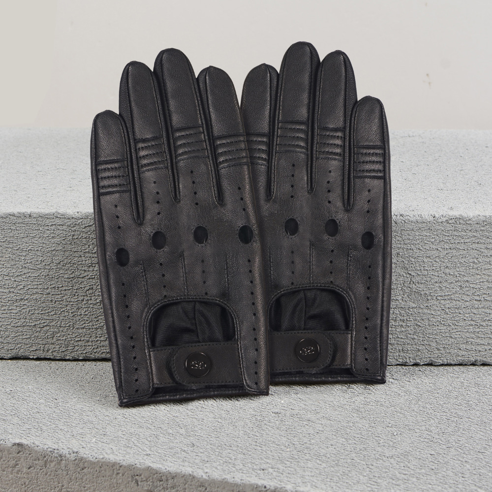 9f91b74fe3a023 Cycling GSG New Arrivals Buy 1 GET 2 Mens Classic Fingerless Gloves  Perforated Half Finger Driving ...