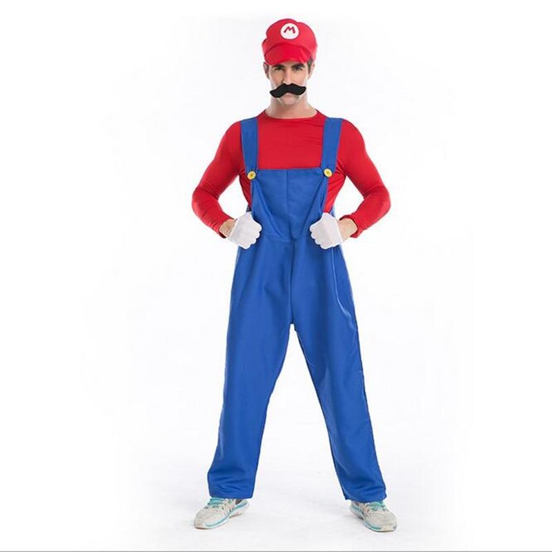 Online Get Cheap Super Mario Luigi Halloween Costumes -Aliexpress ...