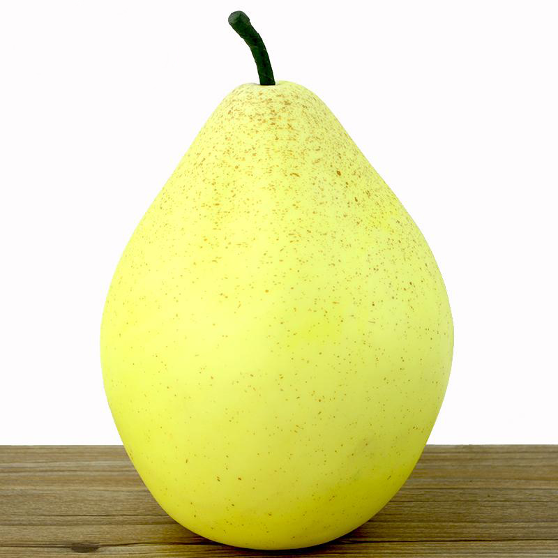 050 Simulation of large pear large size simulation fruit fake bubble pear model sample display photography props 23cm in Artificial Foods Vegetables from Home Garden