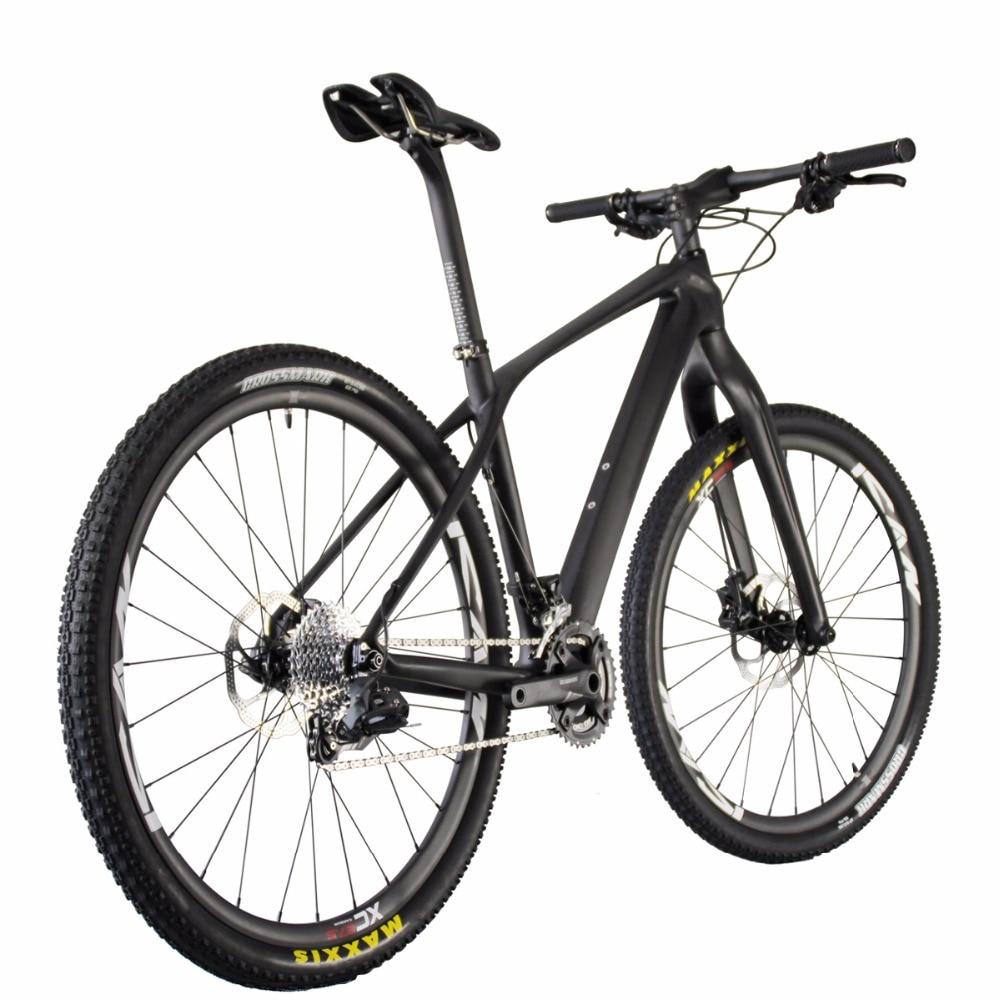 2016 carbon mountain bike 27.5er 9kg mtb bike 650B bicicleta UD matt black full carbon bike 15/17/19 AC650B зимний шлем blizzard 2016 17 mega black matt