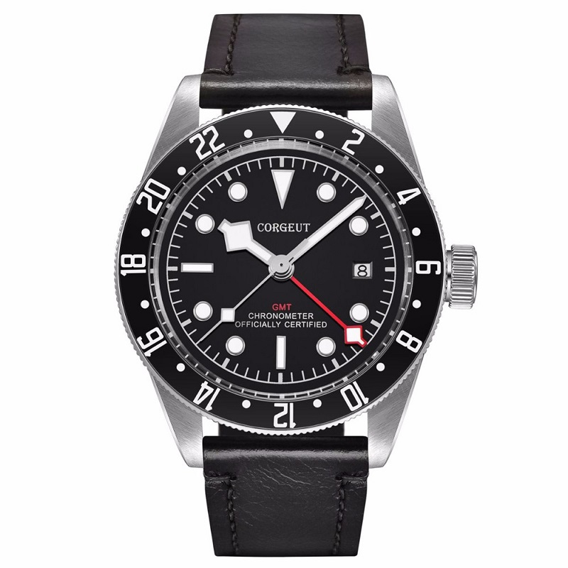 Corgeut Men Watches Luxury top Brand Mechanical Watch sapphire glass GMT Automatic Military Sport Swim Clock LeatherCorgeut Men Watches Luxury top Brand Mechanical Watch sapphire glass GMT Automatic Military Sport Swim Clock Leather