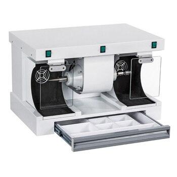 Dental grinding machine dental lab equipment polishing lathe with dental dust collecotor hole