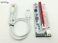 Riser White 008S NGFF M.2 PCIE PCI-E 1X 2X 4X 8X 16X USB 3.0 Adapter Card 60cm Data Cable for BTC Mining Bitcoin Miner Antminer