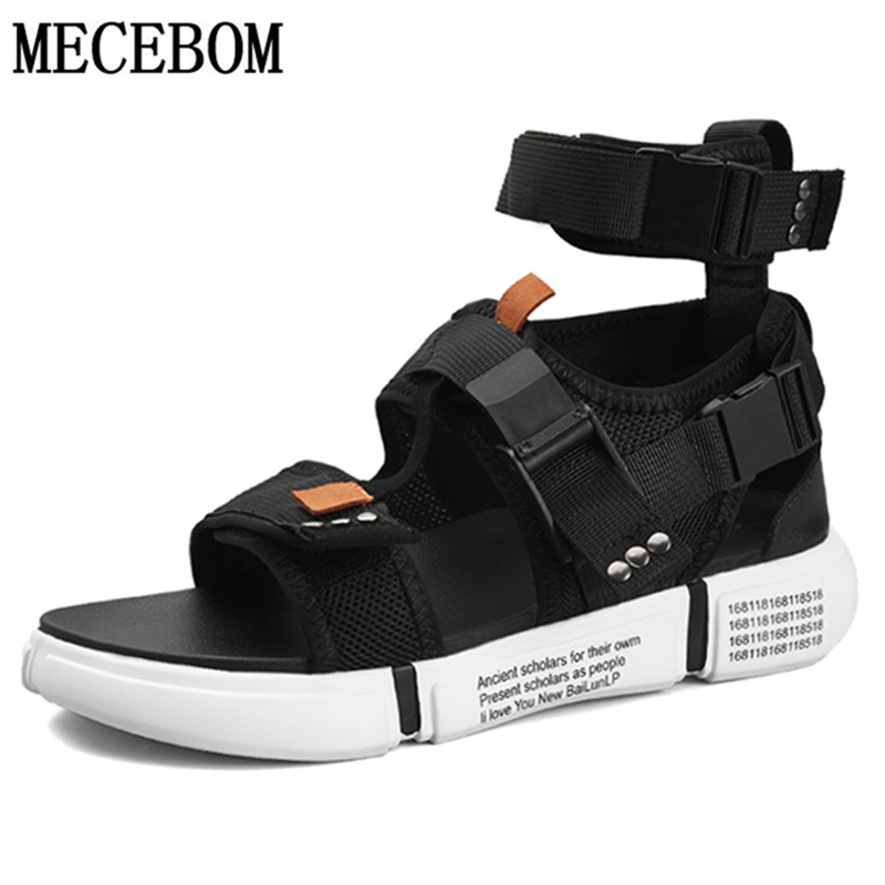 Summer Mens Gladiator Sandals Buckle Design Slip-on Casual Sandals For Male Fashion Men Beach Sandals Zapatillas 899MSummer Mens Gladiator Sandals Buckle Design Slip-on Casual Sandals For Male Fashion Men Beach Sandals Zapatillas 899M
