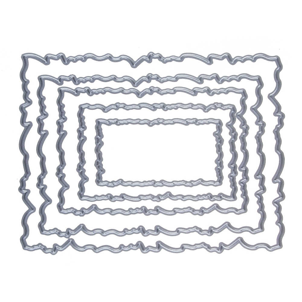 Estel 12595mm frame stitches metal steel cutting dies stencil for 1 piece x metal cutting dies stencil jeuxipadfo Image collections