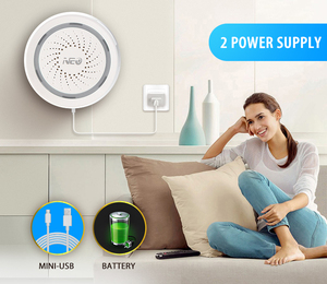 Image 3 - NEO Wireless WiFi USB Siren Alarm Sensor Sound and Light Siren Sensor Home Smart Life