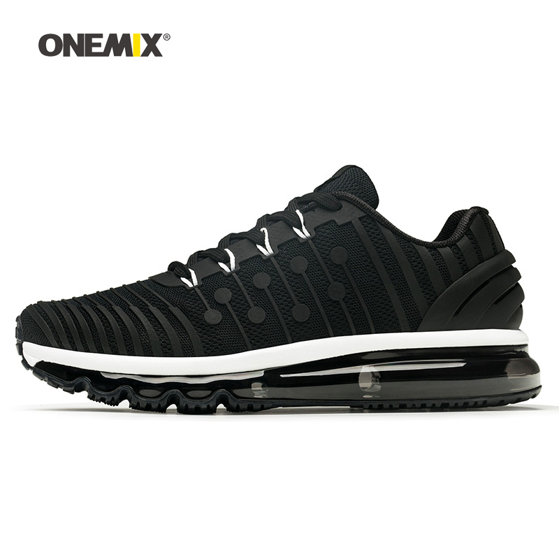Onemix Men Running Shoes for Women Black Max Designer Fitness Jogging Trail Gym Sneakers Outdoor Sport Tennis Walking Trainers onemix woman running shoes for women white mesh air breathable designer jogging sneakers outdoor sport walking tennis trainers