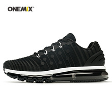 Onemix Men Running Shoes for font b Women b font Black Max Designer Fitness Jogging Trail