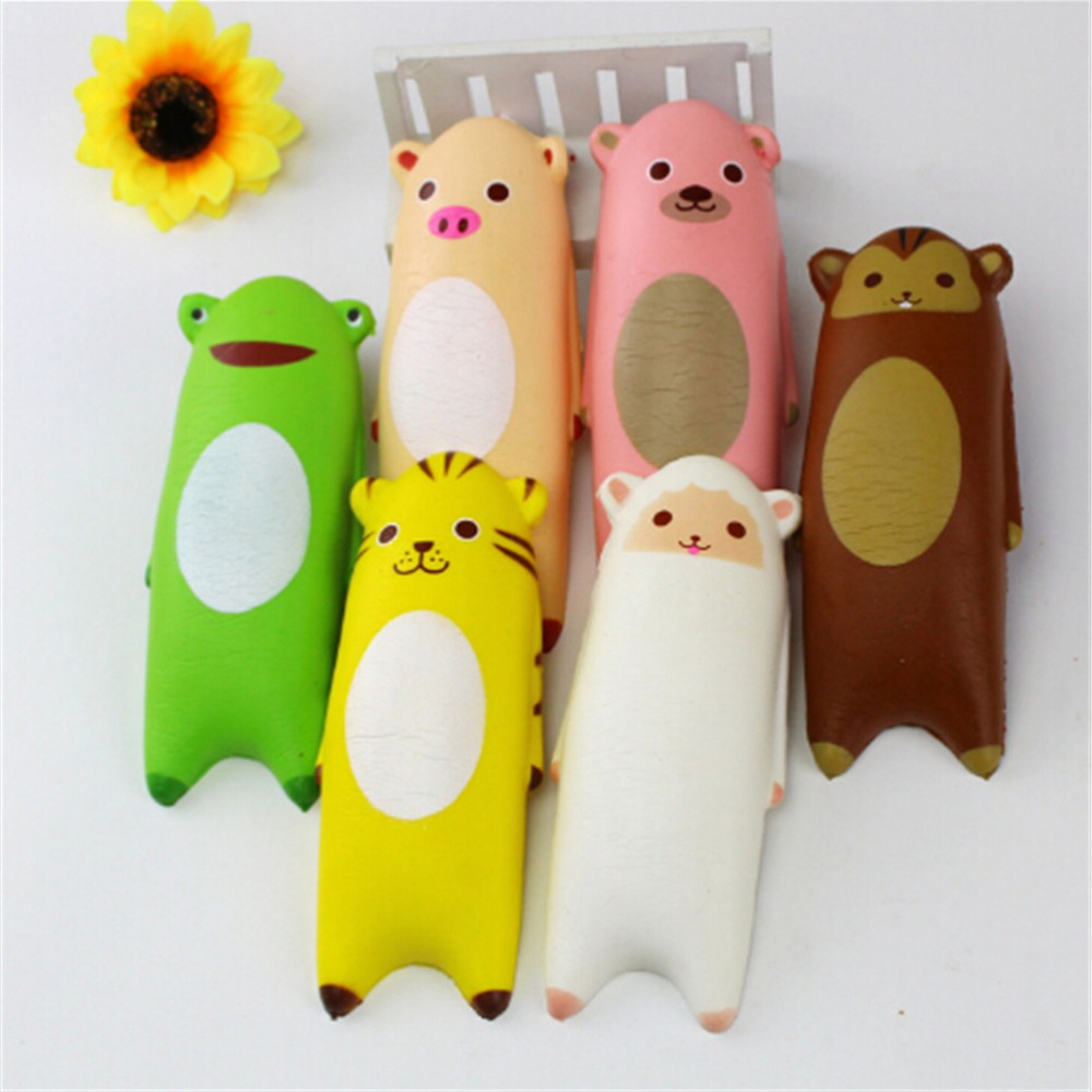 New Kawaii Lovely Hand Pillow Soft Slow Rising Squishy Healing Fun Kids Squeeze Toys Charm Keychain Gift Stress Relieve Gifts